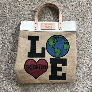 Brighton love the earth tote
